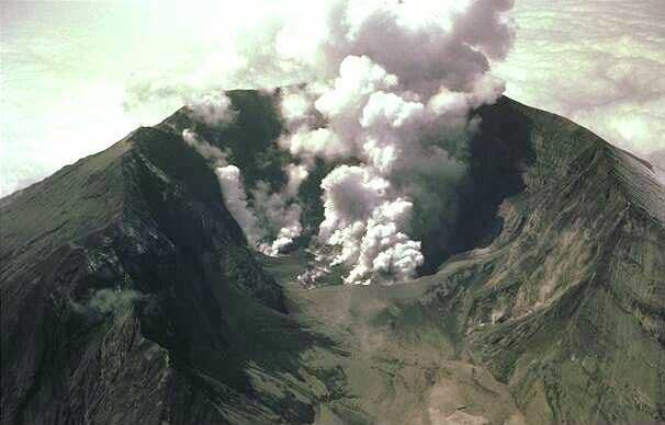 Tambora - Volcans du monde